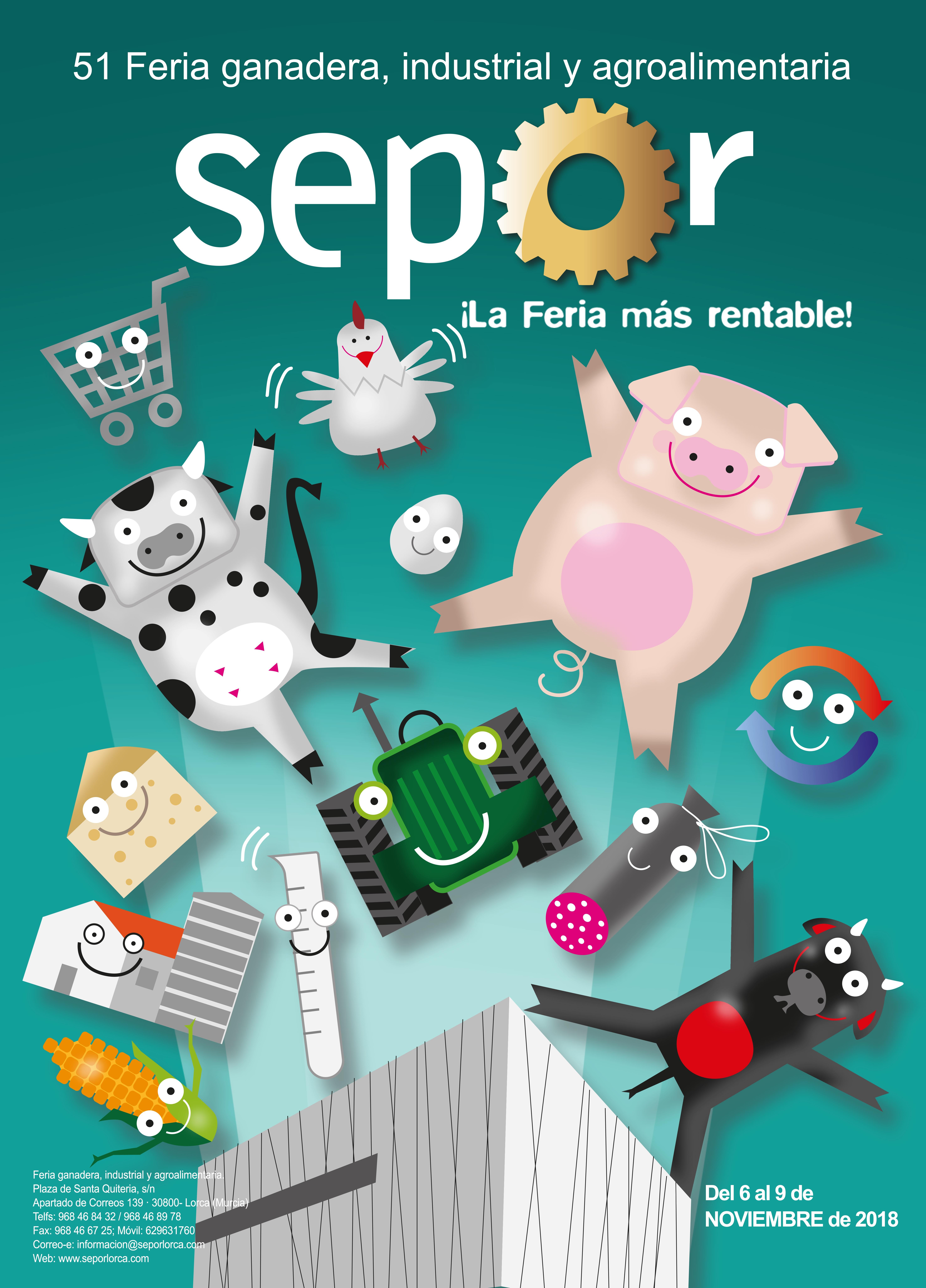 51 Edition of SEPOR, Cattle Fair, Industrial and Agro-food